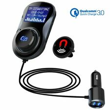 Wireless Bluetooth in Car Kit FM Transmitter Radio MP3 USB Charger Hands-free ~~