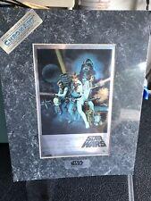 Star wars Foil ChromArt Poster 11 X 14 New Sealed! Lucasfilm