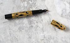 Waterman's Ideal New York Yellow Gold Filigree Fountain Pen 12.1gr
