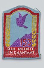 CHANTIERS DE JEUNESSE, Groupement 153, tissu