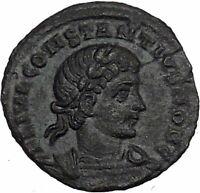 CONSTANTIUS II son of  Constantine the Great  Roman Coin Glory of  Army i37314