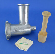 Vintage Sunbeam MixMaster Mixer Meat Grinder Food Chopper Attachment Only