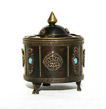 Räucherschale Gefäß Räucherbox Mantra Box Buddha Meditation Klangschale M100-6