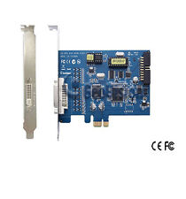 GENUINE GEOVISION GV-650-8 CH DVR Card 60 FPS, 64-bit Windows 7 support, v8.5