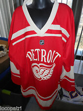 Reebok NHL Detroit Red Wings Blank Youth Replica Hockey Jersey NWT L/XL
