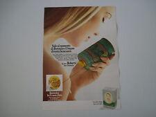 advertising Pubblicità 1972 BOROTALCO ROBERTS
