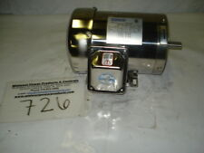 NEW! Sterling motor SBY154FHA, 1.5hp, 1725rpm, 56C w/ft, 230/460, TEFC, 3ph