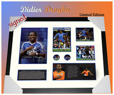 SPECIAL!! FREE POSTAGE! DIDIER DROGBA SIGNED MEMORABILIA LIMITED  EDITION TO 499