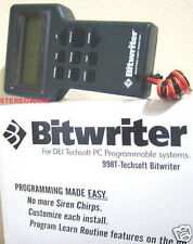 DEI 998T BITWRITER TECHSOFT V 2.9 CAR ALARM PROGRAM NEW