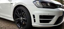 VW Golf 7 R Stoßstangen Folien-Set Schwarz Glanz-Matt Kiemen Folie Aufkleber
