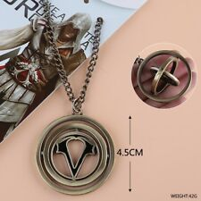 Assassins Creed Necklace Gaming Jewellery Spins!! Movie Ezio PS4 Xbox PC *AUS*