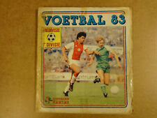 OFFICIAL STICKER ALBUM PANINI COMPLETE NEDERLAND / VOETBAL 83