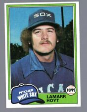 1981 TOPPS - 164 LAMARR HOYT - WHITE SOX - RC ROOKIE CARD