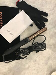 FoxyBae WANDERLUX  Curling Wand - Professional Rose Gold Hair Curling Iron