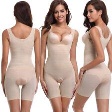 Women's Body Shaper Waist Cincher Underbust Bodysuit Wear Your Own Bra Singlet