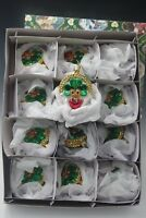 MERCK FAMILY OLD WORLD CHRISTMAS CLADDAGH SET OF 12 ORNAMENTS IRISH  NEW