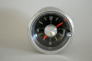 Original Vintage 1961-62 Chevrolet Biscayne ,Bel Air, Impala Dash Clock
