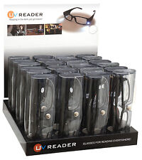 Illuminated LED Light Reading Glasses Wholesale 24 Piece Trade Pack UVLR24TPK