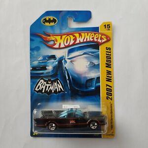 2007 Hot Wheels New Models 1966 TV SERIES BATMOBILE #15 of 36 ~ Sealed in Box
