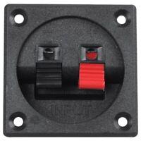 5 Pcs 45MMx21MM 2 Positions Push Spring Load Audio Speaker Terminals C3L5