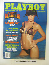 Playboy  Magazine   August 1999    Rebecca Scott  POTM