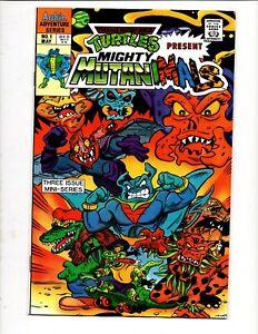 TMNT MIGHTY MUTANIMALS # 1 ARCHIE COMICS 1991 TEENAGE MUTANT NINJA TURTLES