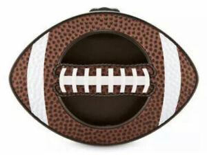 BATH & BODY WORKS FOOTBALL BALL SCENTPORTABLE HOLDER VISOR CLIP CAR FRESHENER