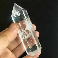 Natural Clear Quartz Crystal Healing Mineral Specimen Stone Wand Reiki 6-7cm NEW