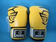 14 OZ PRETORIAN MUAY THAI TWINS PU LEATHER BOXING GLOVES NEW