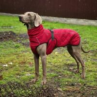 Waterproof Large Dog Jacket Fall Winter Dog Clothes Black Red Autumn Clothing