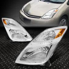 Pour 2006-2009 Toyota Prius Paire Chrome Boîtier Ambre Coin Phare avant / Lampe