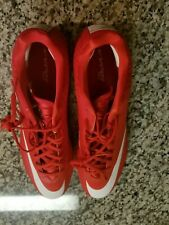 Nike Vapor Speed 2 Football Cleats sneakers Sz 16 Red/White
