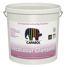 Caparol Deco-Lasur glänzend  2,5 Liter +++ Nassabriebklasse 1 +++