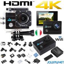 SJ9000 Pro Cam 4K HD SPORT WIFI ACTION CAMERA 16MP VIDEOCAMERA SUBACQUEA Q5 NERO