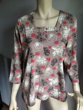 Tunic Machine Washable Floral 100% Cotton Tops & Blouses for Women
