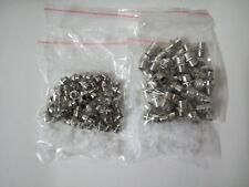 50pcs 3mm 5mm Chrome Metal LED Bezel Holder Panel Display New