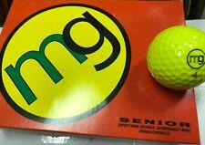 MG Senior Golf Balls - Optic Yellow (1 Dozen (12) Balls)