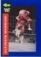 1991 Classic WWF WWE #2 Ultimate Warrior