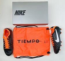Nike Tiempo Legend 8 Elite IV FG 'Black Total Orange' CI7587-018 Sz 9.5,10,11,12
