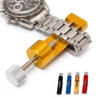 Metal Adjustable Watch Band Strap Bracelet Link Pin Remover Repair Tool Kit Sets