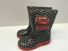 Boys Novelty Lightning Mcqueen Wellies Wellington Boots Size 6