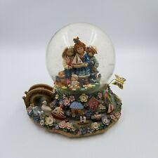 San Francisco Music Box In the Good Old Summertime. Marjorie Sarnat Snow Globe.