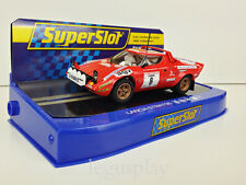 Slot Car Scalextric Superslot H3930 Lancia Stratos Course Rally 1975 B.Daniche