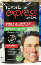 Hair Restoria Express Men Color Cream Dye Cover Grey Cream New Quick No Ammonia