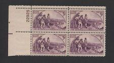 US - 1942 - SCOTT 904 PLATE BLK 4, MNH - KENTUCKY SESQUICENTENNIAL