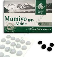 120 tab Altai High Quality Pure Supplement mumio mumiyo mumijo shilajit resin