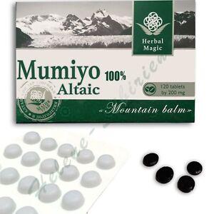 120 tab Altai High Quality Pure Supplement mumio mumiyo mumijo shilajit resin