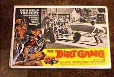 DIRT GANG 1972 LOBBY CARD #7 BIKER
