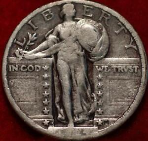 1924-D Denver Mint Silver Standing Liberty Quarter