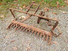 Walk Behind Garden Tractor Sickle Bar Mower Parts/Repair-USED
